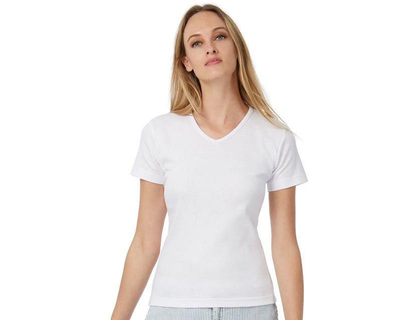 V- Neck Short Sleeve T-shirt Watch