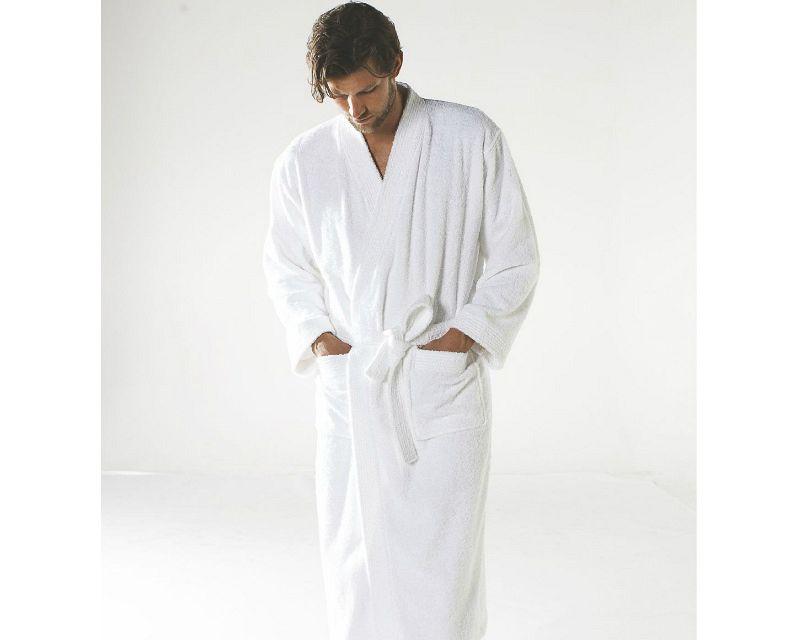 Albornoz Baño Kimono White