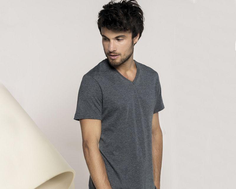 Camiseta V-neck