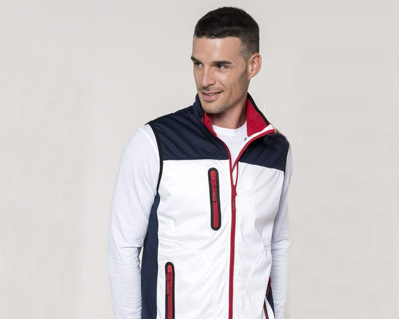 Chaleco Softshell Tricolor