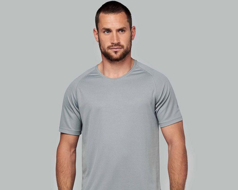 Camiseta M/Corta Poliester Hombre