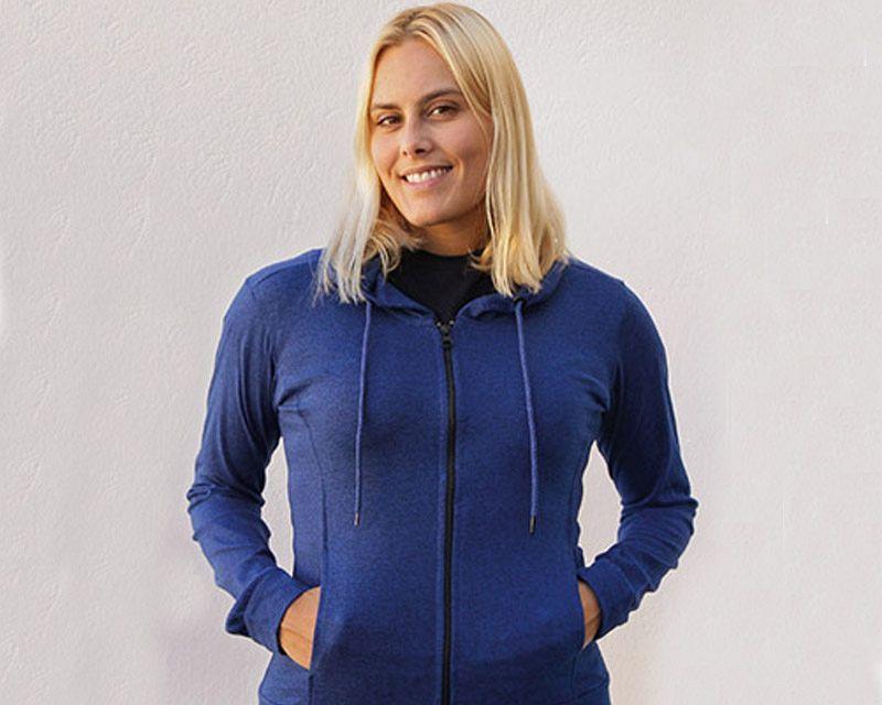 Woman Hooded Sweatshirt