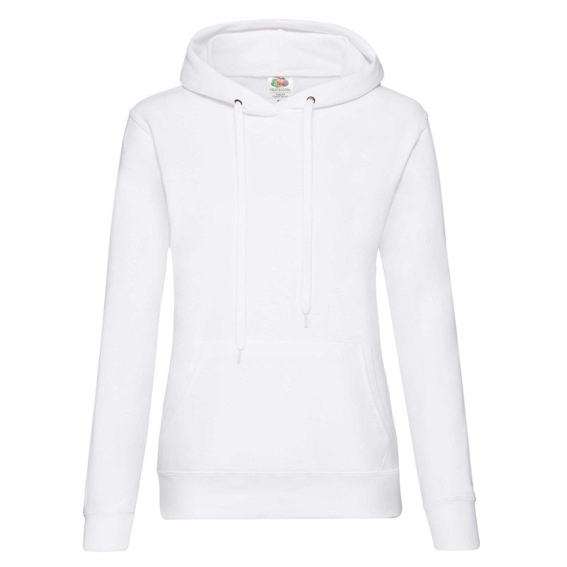 Classic Lady Fit Hooded Sweat