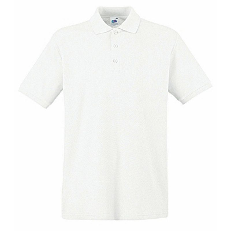 Polo Pique Premium White