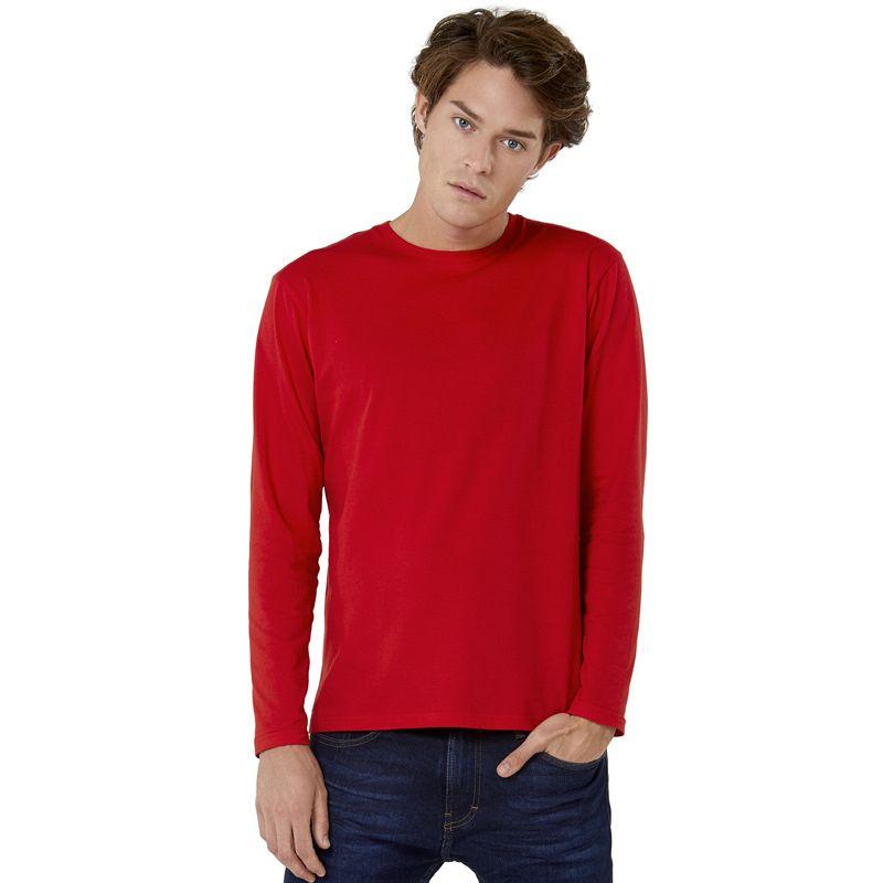 Camiseta Bc #e150 Men M/l White 3xl-4xl