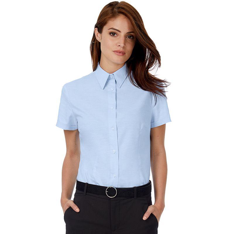 Camisa Bc Oxford M/c Mujer