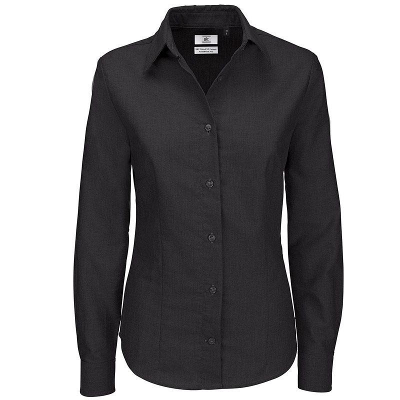 Camisa Bc Oxford M/l Mujer