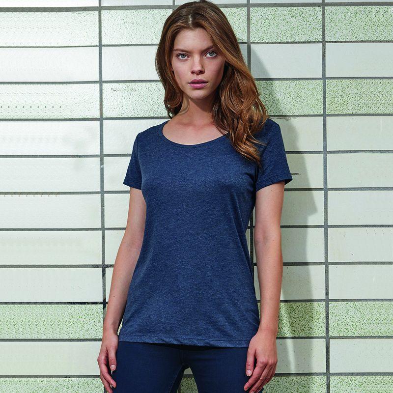 Camiseta M/c Triple Composicion Mujer