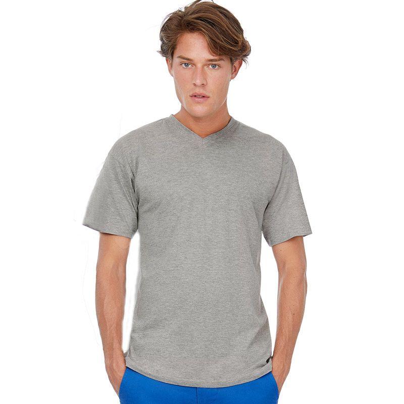 Camiseta Bc Cuello Pico White