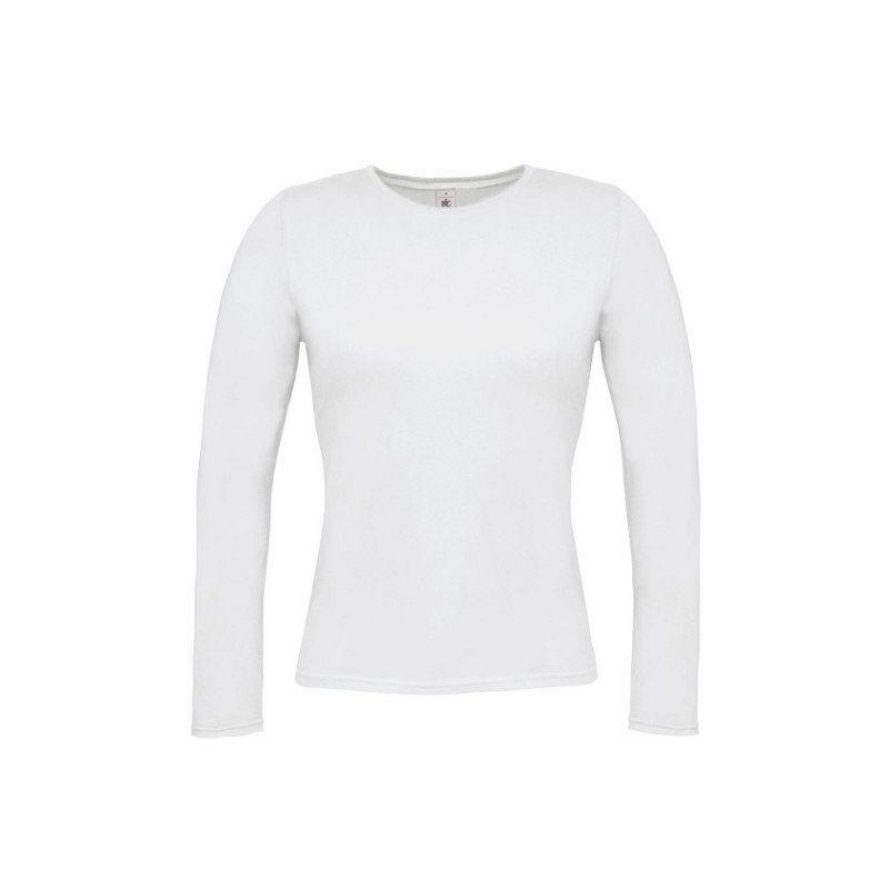 Camiseta Women Only M/larga Mujer White