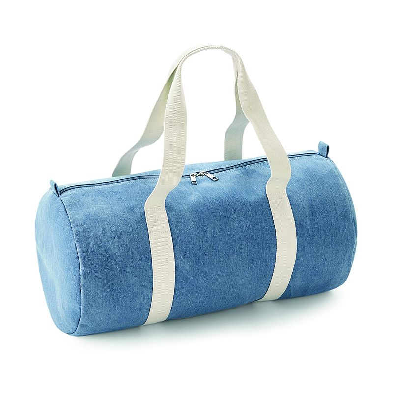 Denim Barril Bag