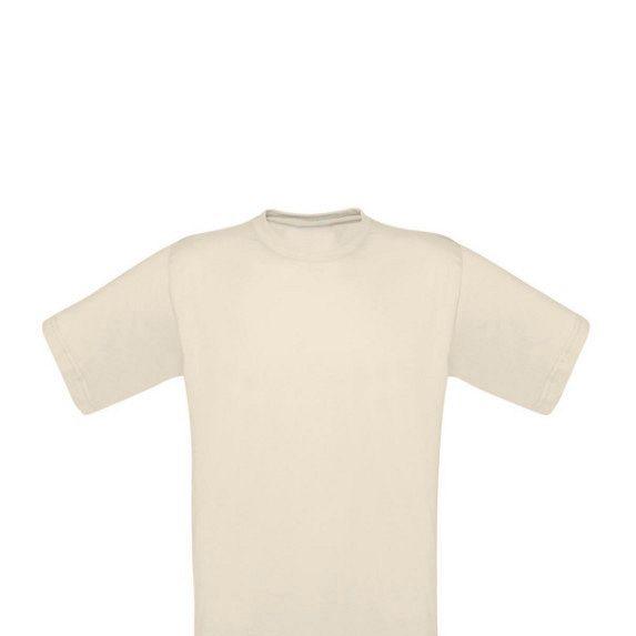 Camiseta de Algodón Crudo 160gr