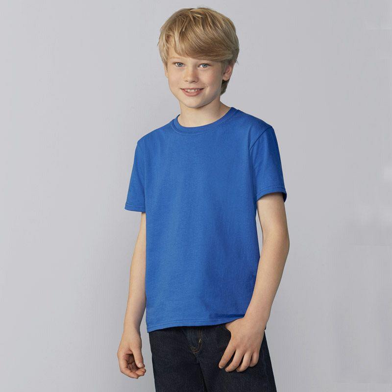 Camiseta Ringspun Niño White