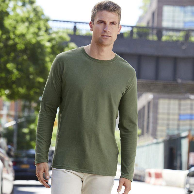 Camiseta Soft Style M/larga White