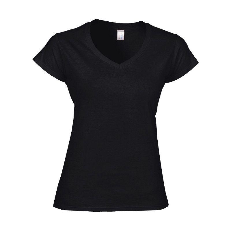 Camiseta Cuello Pico Mujer