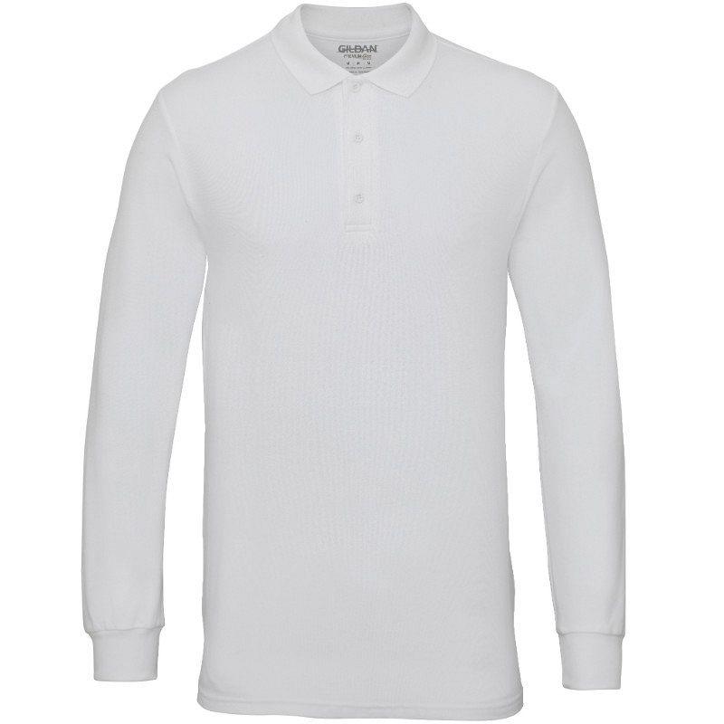 Polo M/larga White