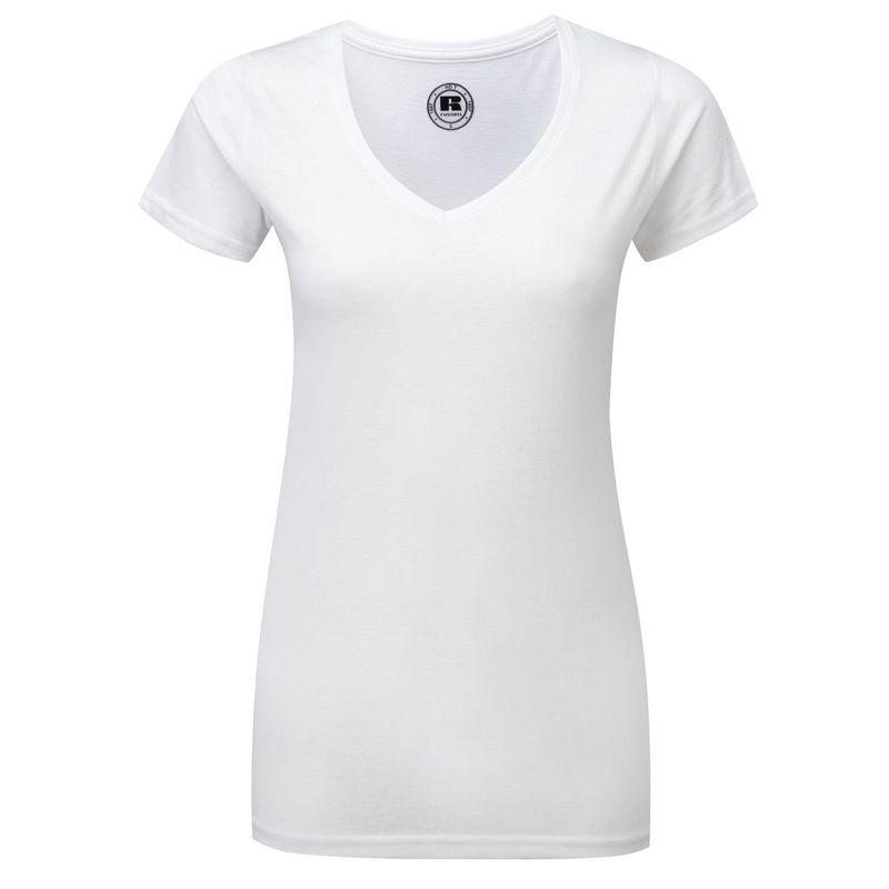 Camiseta Hd Pico Mujer
