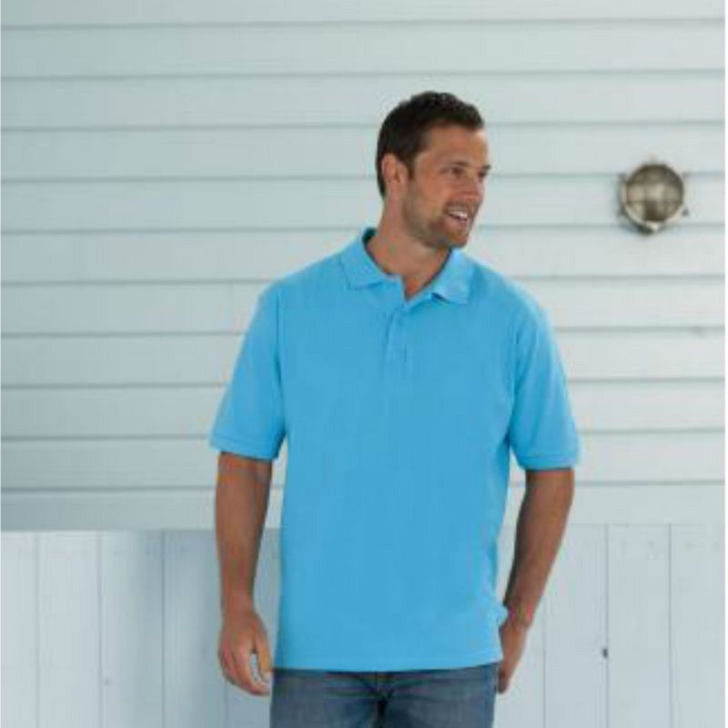 100% Cotton Pique Polo Shirt