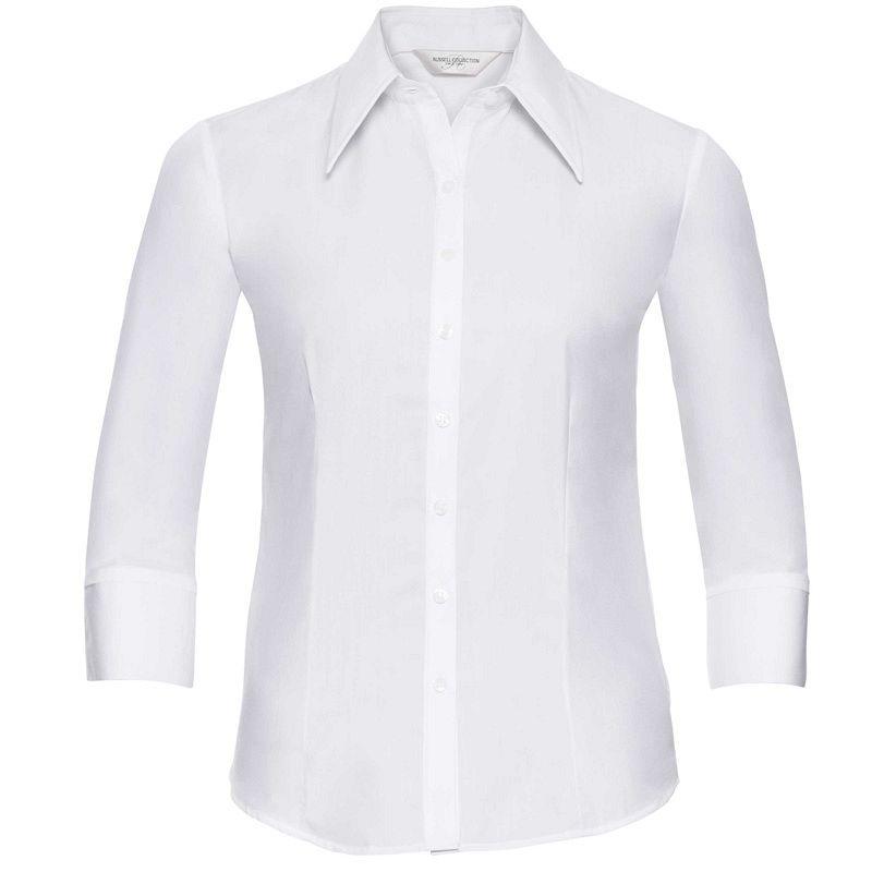 Camisa Tencel manga 3/4 Mujer
