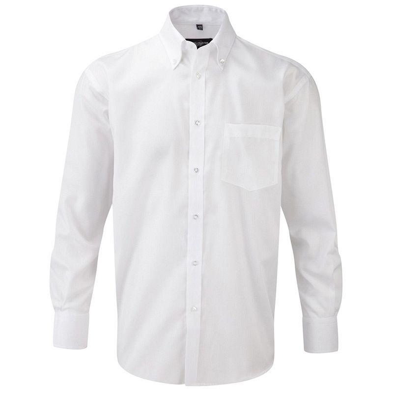 Camisa sin Planchado manga Larga