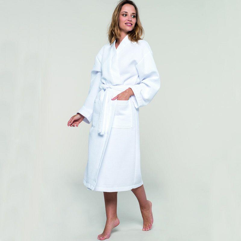 Albornoz Kimono White