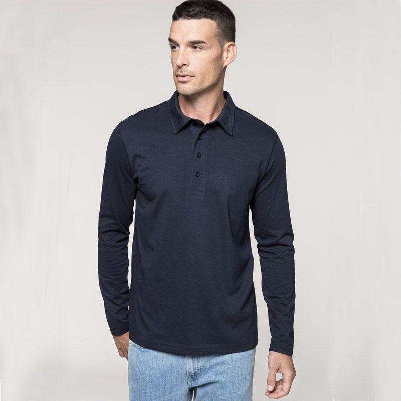 Polo Jersey de manga Larga