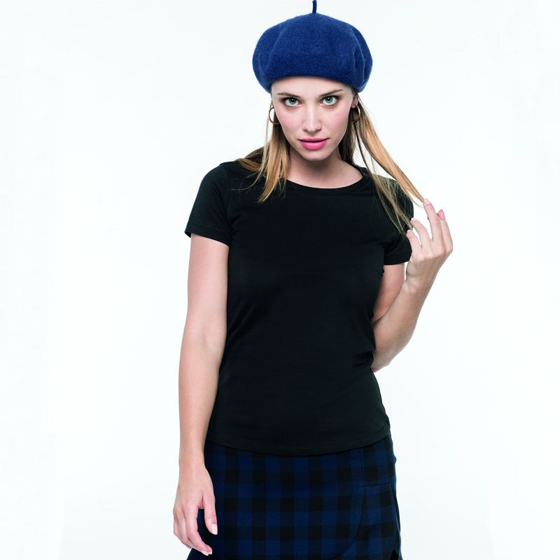 Camiseta Supima® Cuello Redondo M/c Mujer