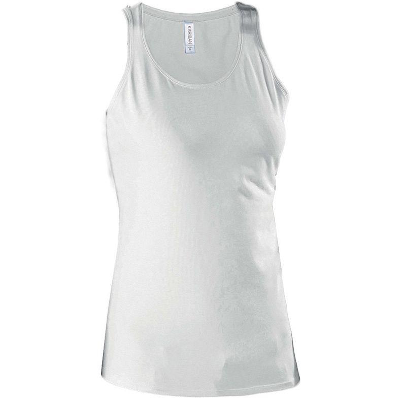 Camiseta sin Mangas Mujer White