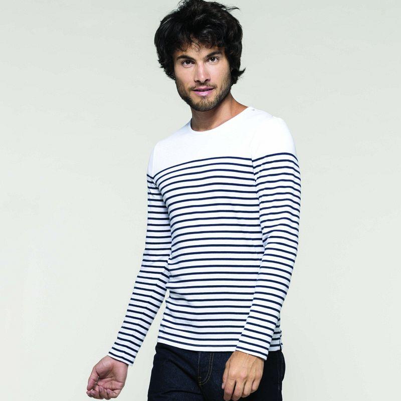 Camiseta M/l Marinero Hombre