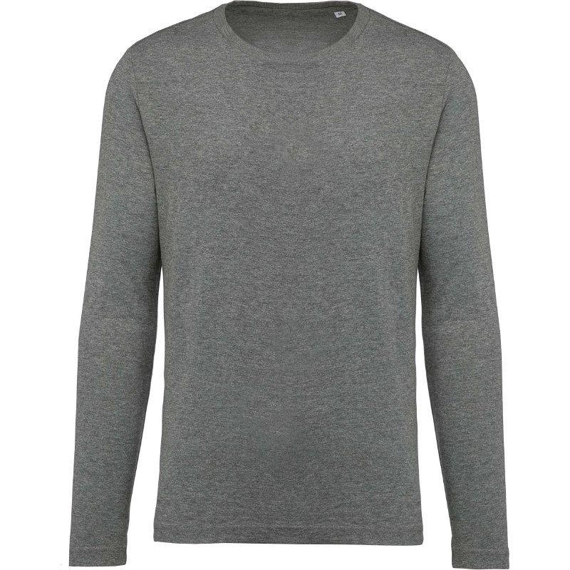 Camiseta Organica Cuello Redondo M/larga