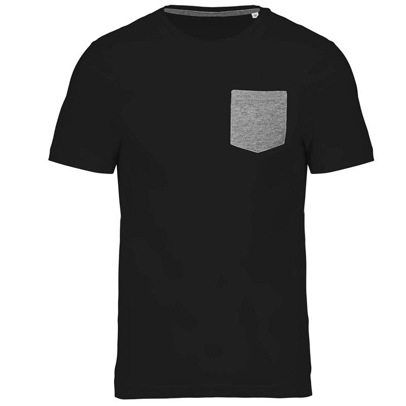 Camiseta Orgánica con Bolsillo
