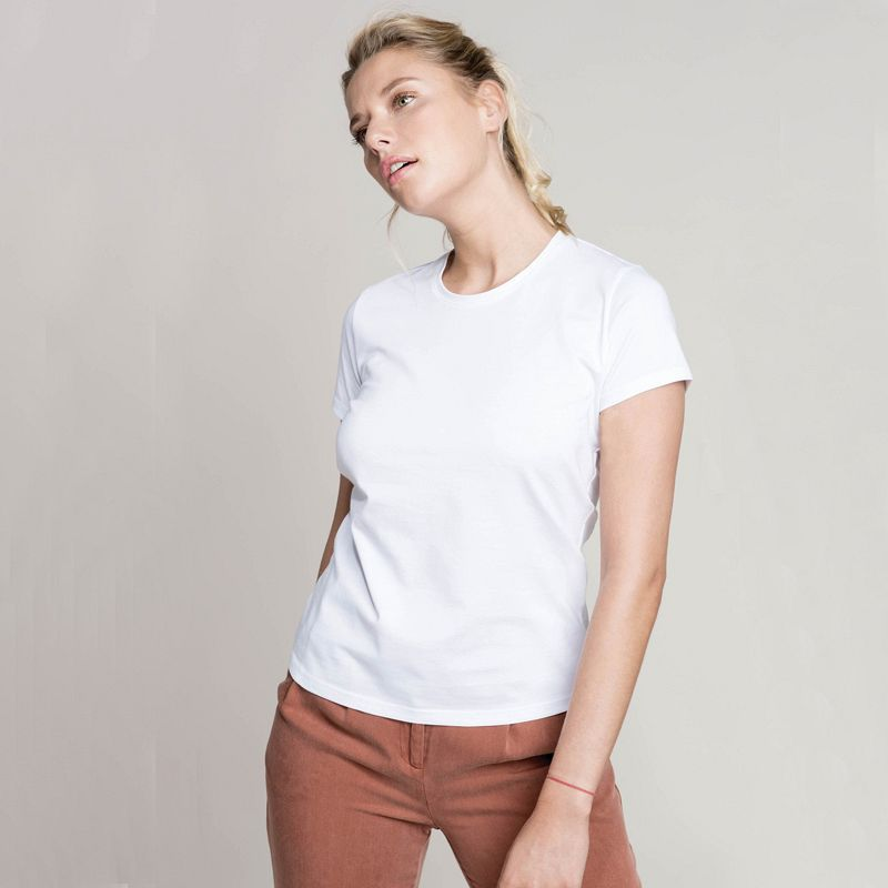 Camiseta Mujer manga corta Color