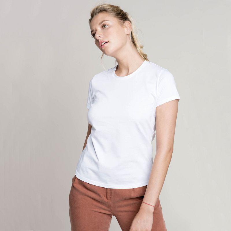 Camiseta Mujer manga corta White