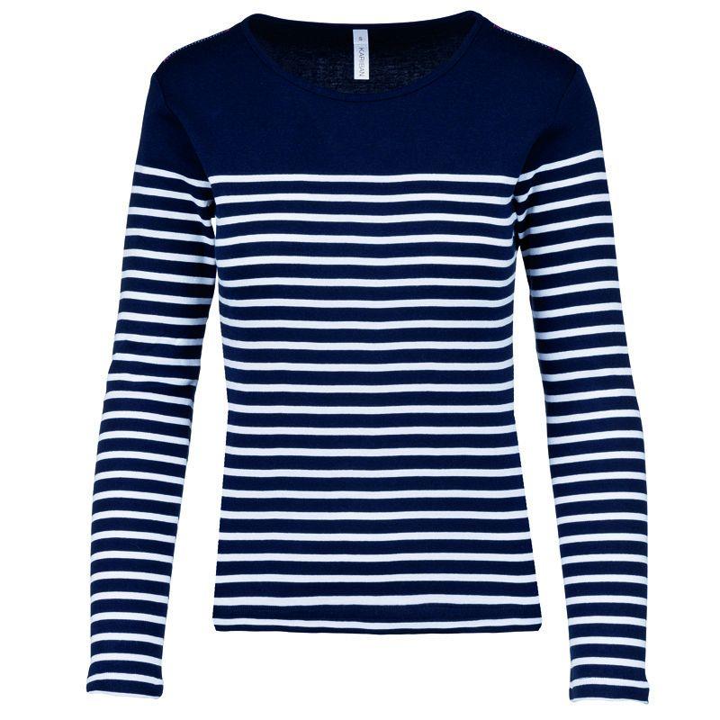 Camiseta M/l Marinero Mujer