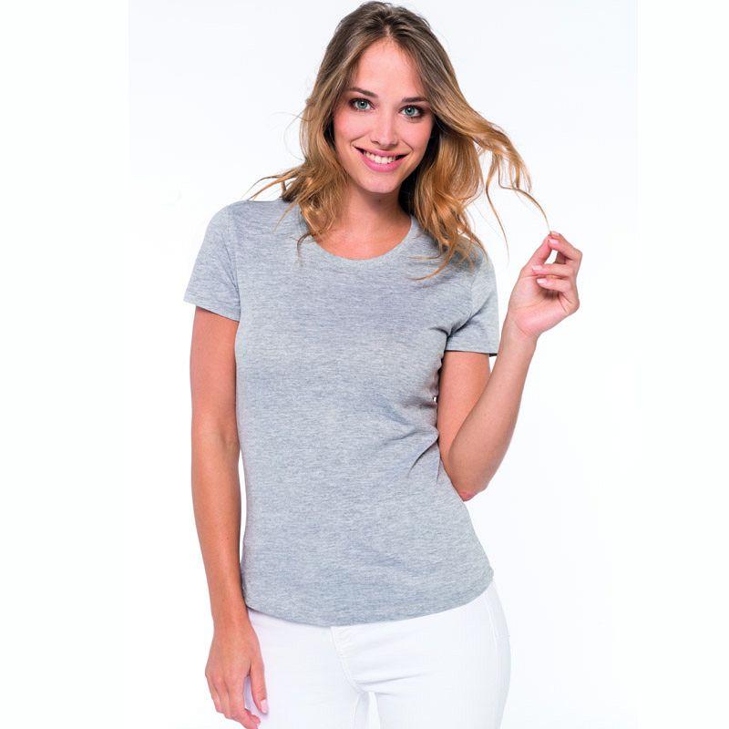 Camiseta M/corta Mujer White