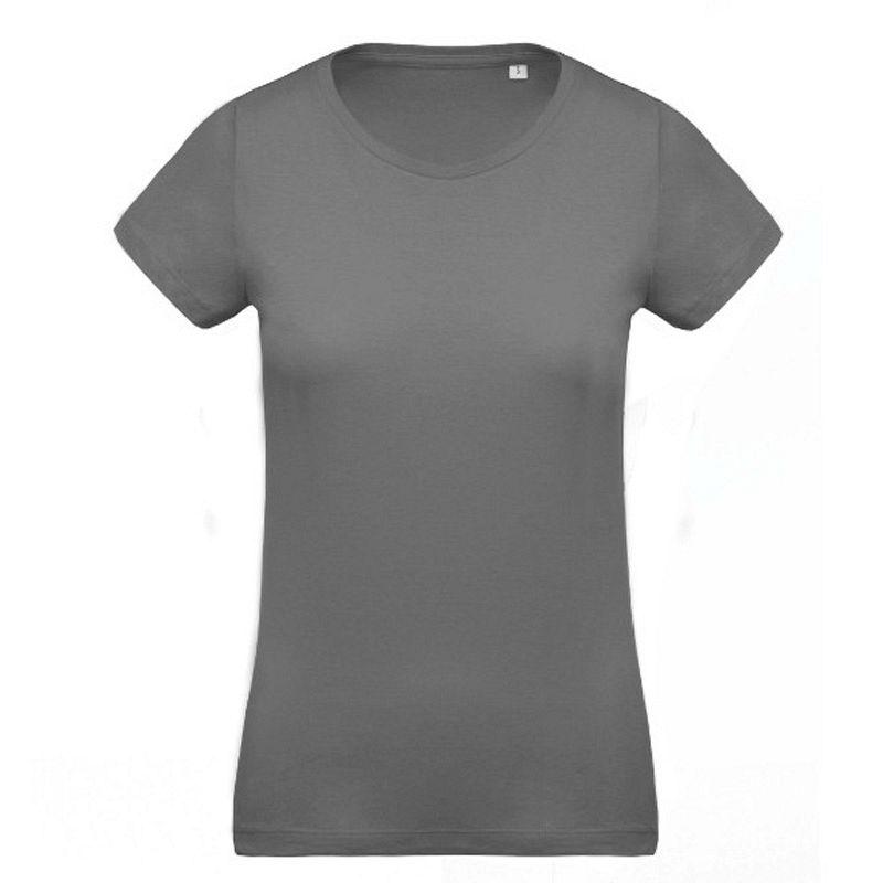 Camiseta Organica Cuello Redondo Mujer