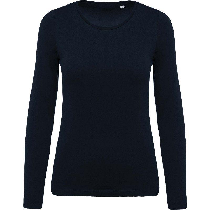 Camiseta Organica Cuello Redondo M/larga Mujer