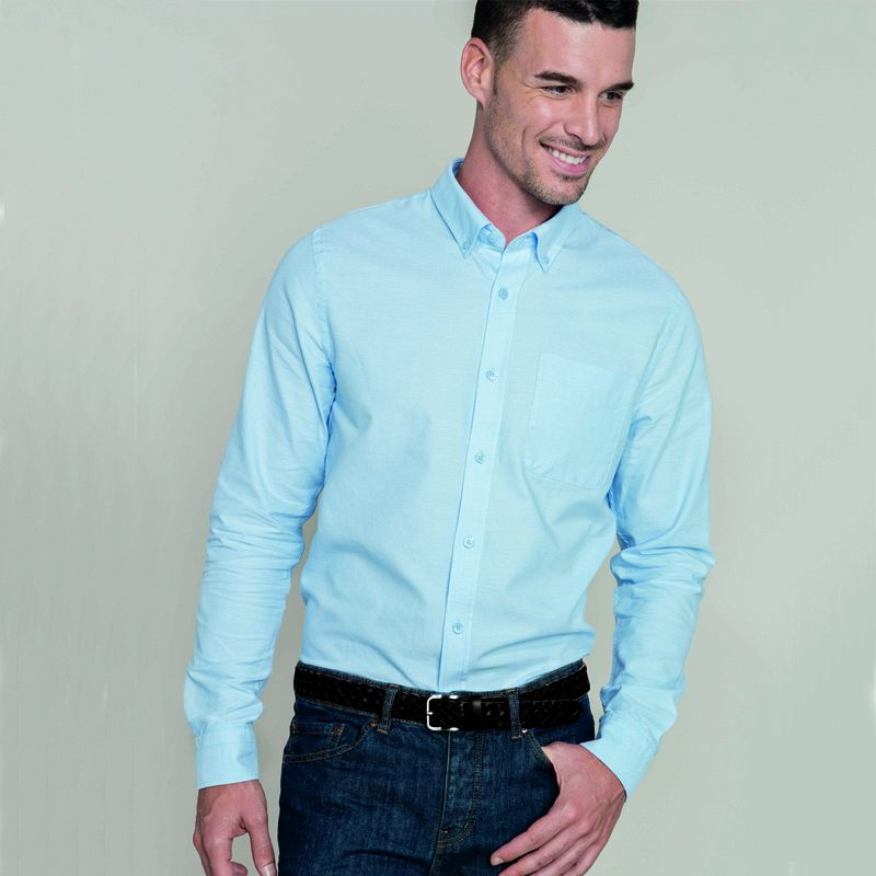 Camisa M/larga Oxford