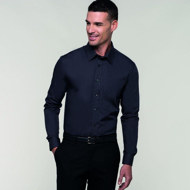 Camisa Popelina manga Larga