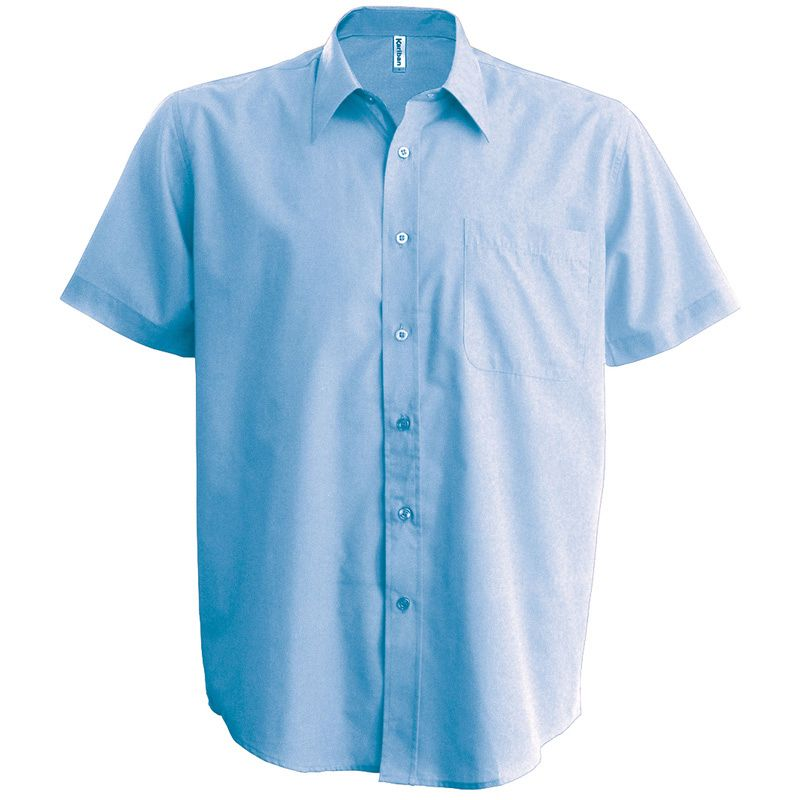 Camisa Popelina manga Corta
