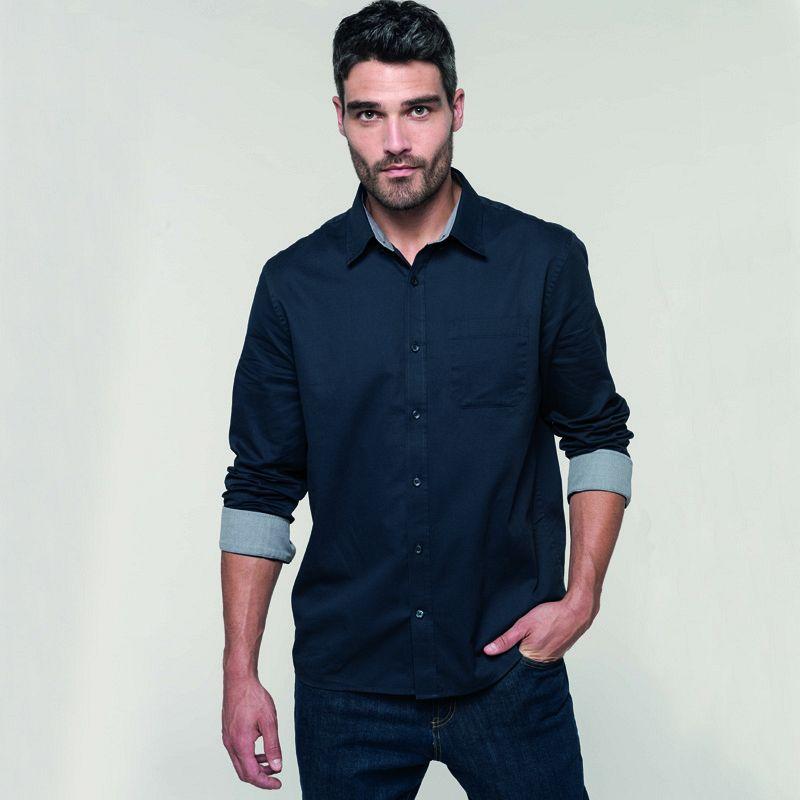 Camisa M/l Nevada Hombre