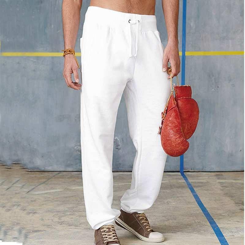 Pantalon Felpa White