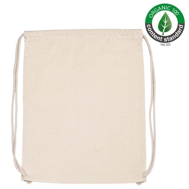 Mochila Algodón Organico Natural