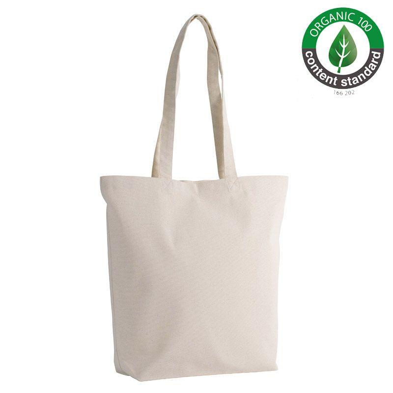 Bolsa Algodón Organico Natural