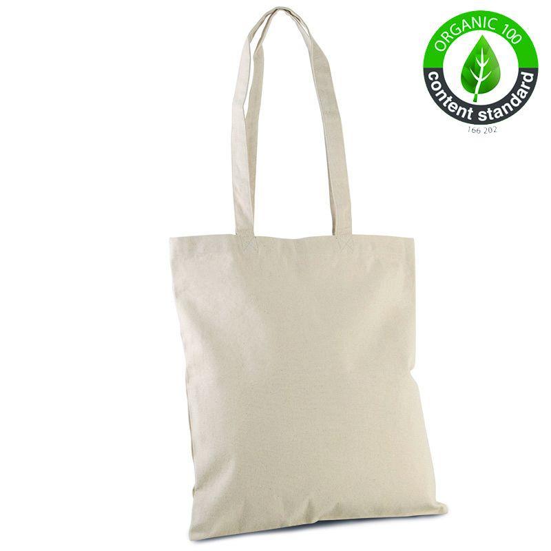 Bolsa Shopper Algodón Orgánico Natural