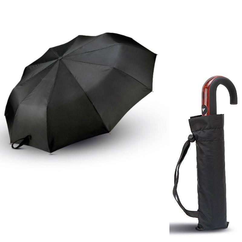 Mini Paraguas Mango Curvo