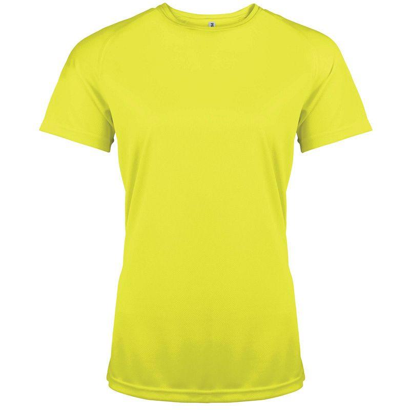 Camiseta M/corta Poliester Mujer