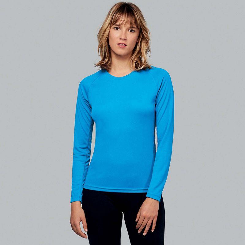 Camiseta M/larga Poliester Mujer