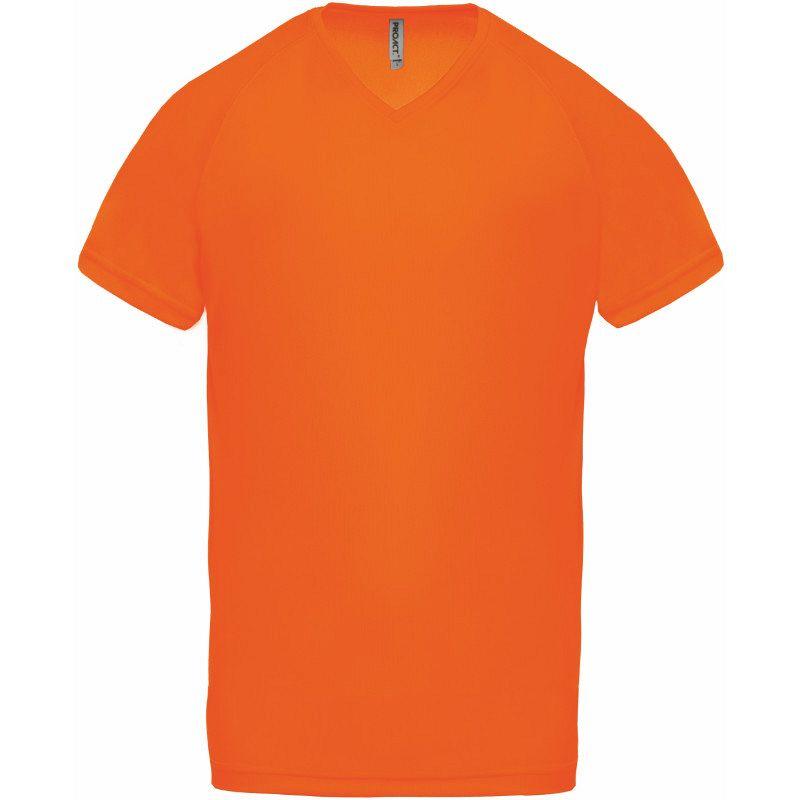 Camiseta Deporte Pico Fluor
