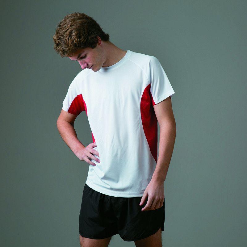 +sport T-shirt ín White